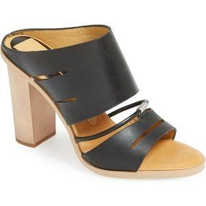 Dolce Vita Odea Leather Mule Sandal Slide